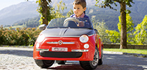 Menu Toys - Fiat 500 Remote Control Red